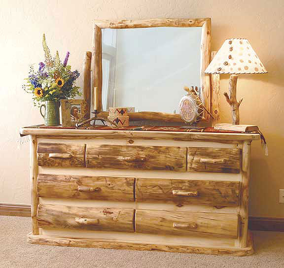 rustic log bedroom furniture log furniture bed