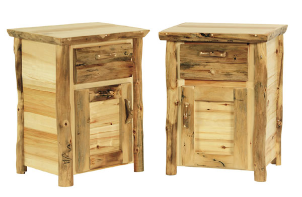 Captivating Discount Rustic Log Furniture Nightstands