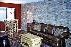 Decorating with log furniture