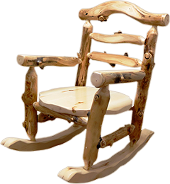 Aspen Grizzly Rocking Chair