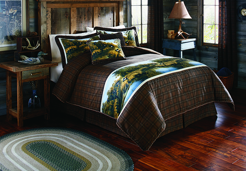 Mwf mountain woods furniture Mountain home bedroom furniture