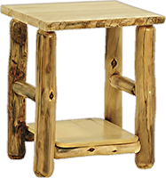 Rustic Arts® Side Table