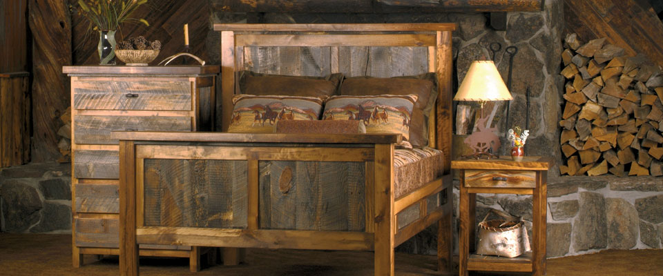 Rustic Aspen Amp Pine Log Furniture Reclaimed Lodge