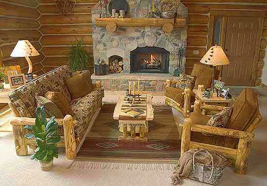 Rustic Aspen Pine Log Furniture Stores Lodge Furniture By Mountain