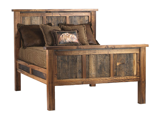 Rustic reclaimed wood furniture sustainable furniture for Rustic furniture