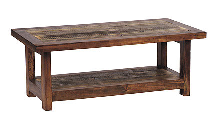 Rustic Reclaimed Wood Coffee Table - Rustic Reclaimed Wood Furniture Sustainable Furniture