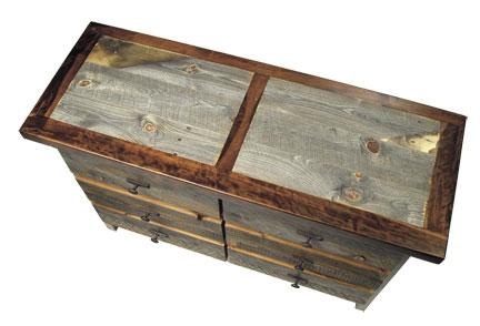 Rustic Reclaimed Wood Dresser