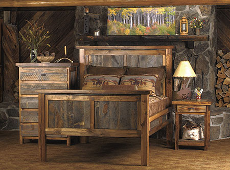 Rustic Reclaimed Wood Furniture
